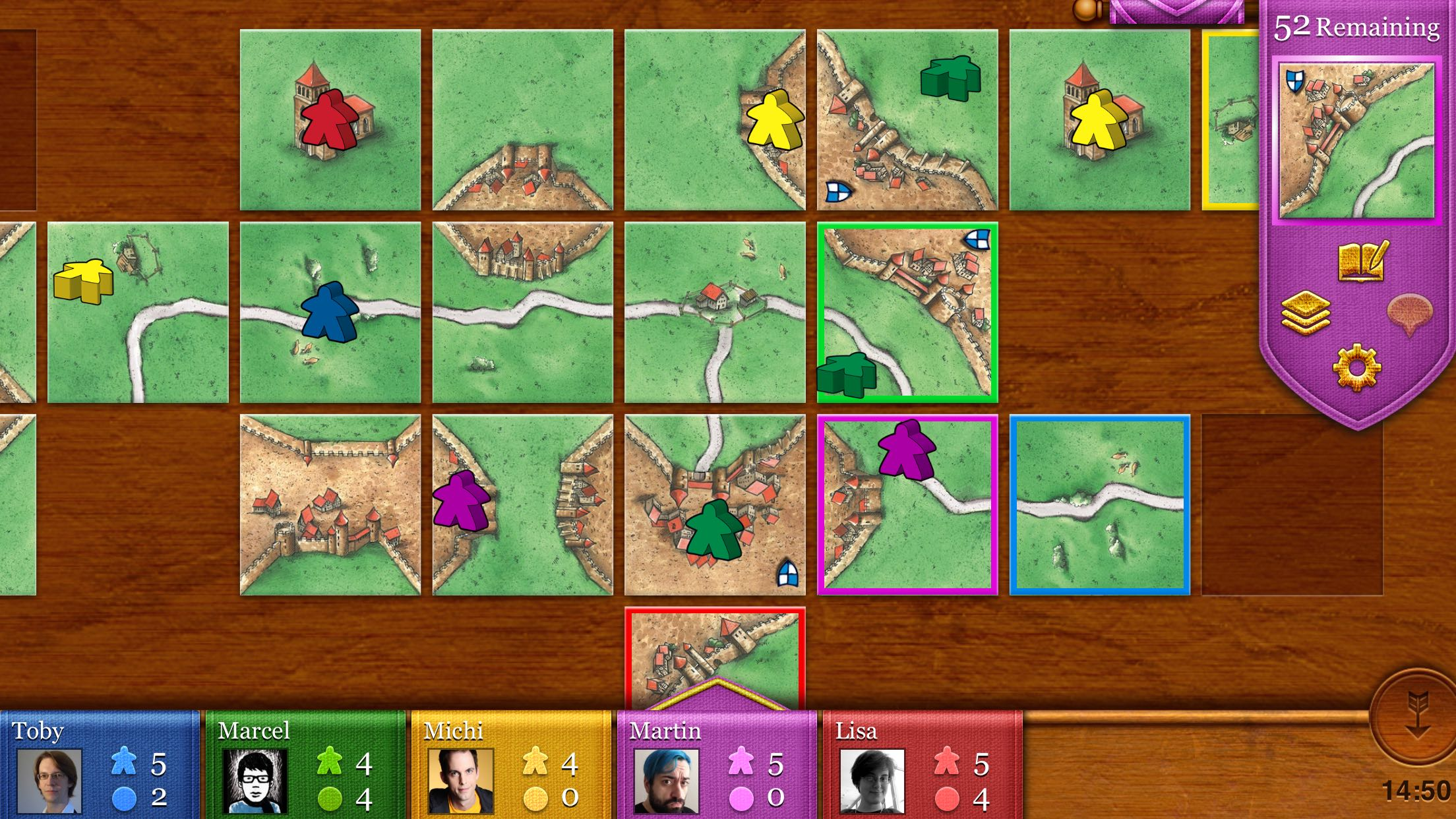 Carcassonne For Iphone Ipod Touch And Ipad